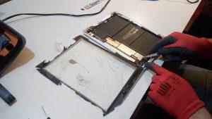 réparation d'écran cassé